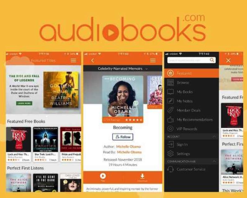Audiobook 使用介面-Sherriel雪瑞