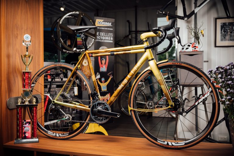 ioklin 世界首獎手工腳踏車