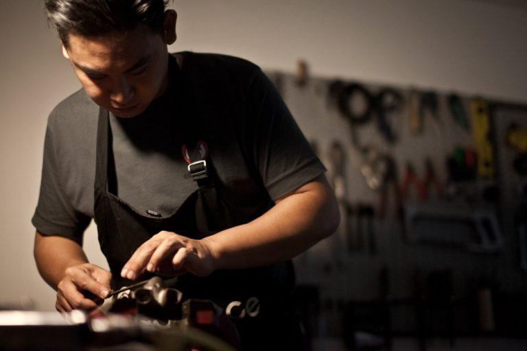 Marc 大哥製作手工腳踏車